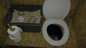 toilettes seches roulotte