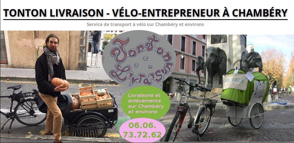 Tonton Livraison - Vélo-entrepreneur à Chambéry