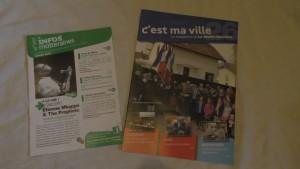 journaux - info motteraine vélo distribué