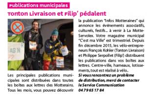 Article C'est ma ville - La Motte Servolex avril 2016