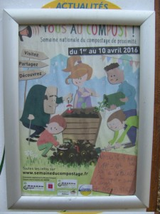 affiche semaine compostage falaise chambery